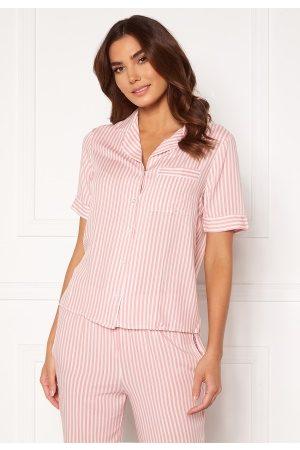 Trendyol Dame Pyjamaser - SS Pant PJ Set Pembe/Pink 40