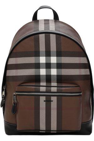 Burberry Herre Ryggsekker - Jett Check E-canvas Backpack