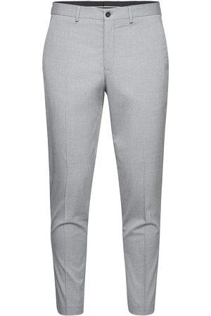 SELECTED Slhslim-Mylologan Lt Gry Crop Trs B Dressbukser Formelle Bukser