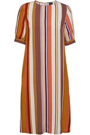 Aspesi Dame Mønstrede kjoler - Abito Mod.2910 Knelang Kjole Multi/mønstret