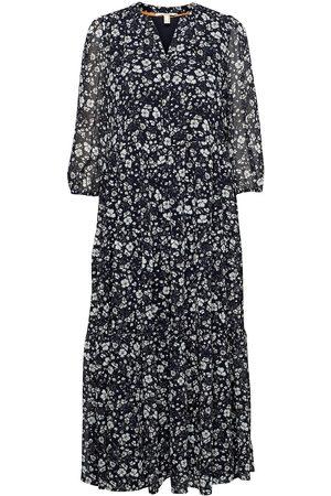 Esprit Casual Dresses Light Woven Knelang Kjole