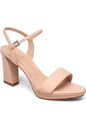 Clarks Vista Strap Sandal Med Hæl