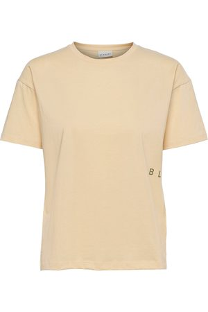 Blanche Main Dna T-shirts & Tops Short-sleeved Creme