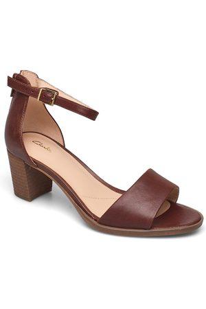 Clarks Dame Høyhælte sandaler - Kaylin60 2part Sandal Med Hæl