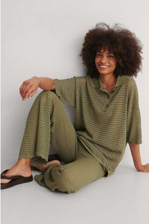 MANGO Dame Kortermede - Skjorte