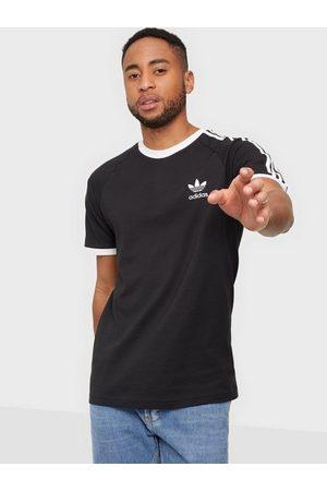 adidas Herre Singleter - 3-Stripes Tee T-skjorter og singleter Black