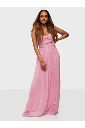 NLY Eve Dame Maxikjoler - Dreamy Bustier Gown Rose