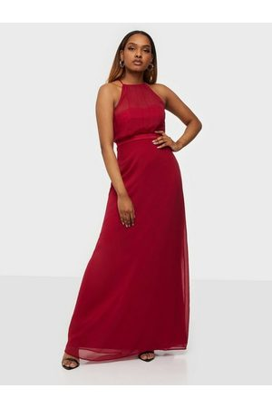 NLY Eve Make My Day Bow Gown Burgundy