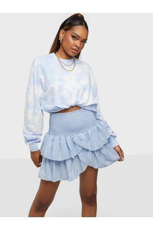 Neo Noir Dame Miniskjørt - Carin Skirt Light Blue