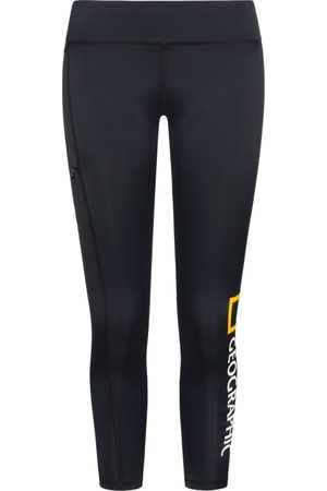 NATIONAL GEOGRAPHIC Dame Treningstights - Women's Tights Big Logo
