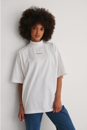 Calvin Klein Dame Kortermede - Økologisk T-skjorte