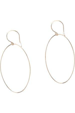 GINETTE NY Ellipse Hoop Earrings