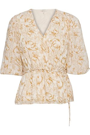 Notes Du Nord Dame Bluser - Tracy Recycled Top P Bluse Langermet Creme