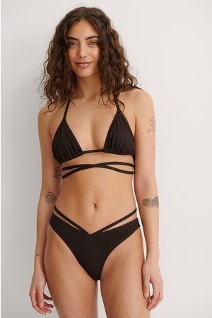 NA-KD Dame Bikinier - Bikinitruse Med Høy Skjæring