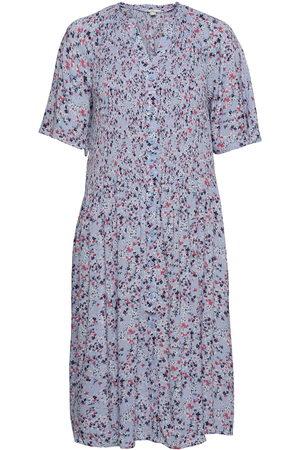 Esprit Dame Midikjoler - Dresses Light Woven Knelang Kjole