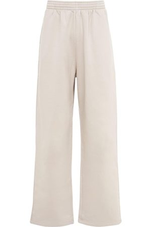 Balenciaga Baggy Cotton Jersey Sweatpants