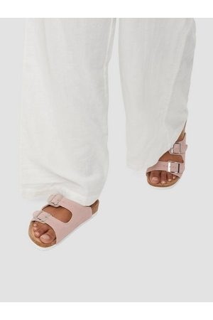 Duffy Leather Slipper Light Pink