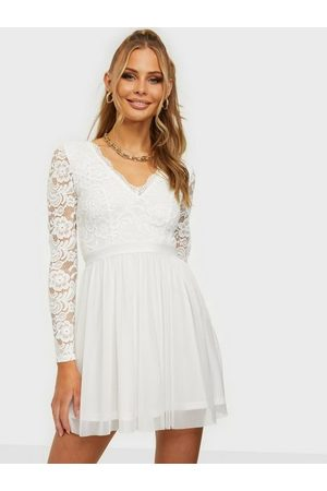 NLY Trend Scalloped Lace Mesh Dress