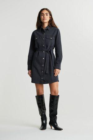 Gina Tricot Dame Hverdagskjoler - Denim shirt dress