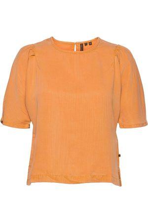 Superdry Dame Kortermede - Woven Tshirt Blouses Short-sleeved