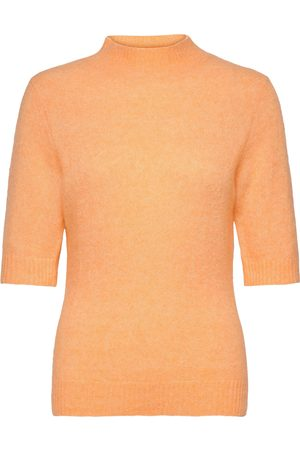 Holzweiler Puff Knit Tee T-shirts & Tops Knitted T-shirts/tops Creme
