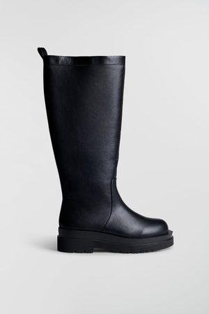 Gina Tricot Dame Høye støvletter - Ally knee high boots