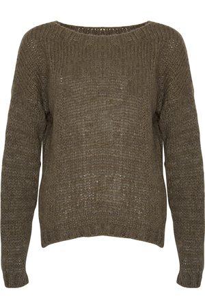 Noella Kala Knit Sweater - Sandfarget Genser