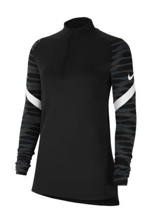 Nike Dri-FIT Strike fotballtreningsoverdel med glidelås i kvart lengde til dame
