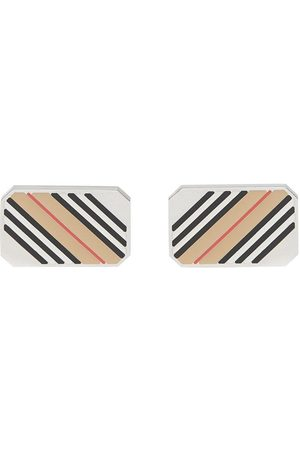 Burberry Herre Mansjettknapper - Icon stripe cufflinks