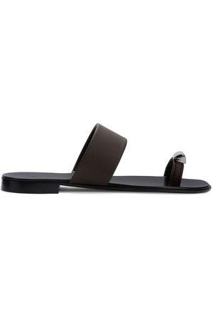 Giuseppe Zanotti Herre Sandaler - Metal toe strap sandals