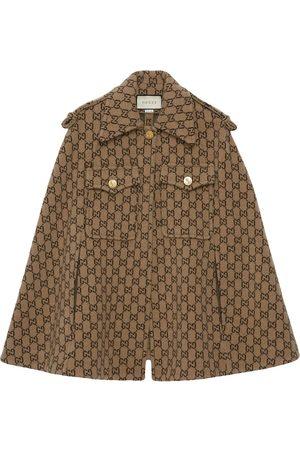 Gucci Dame Capes - Monogram cape
