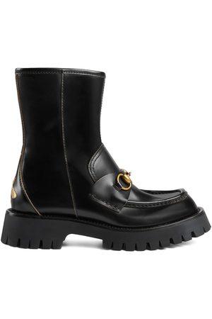 Gucci Dame Skoletter - Horsebit-embellished ankle boots