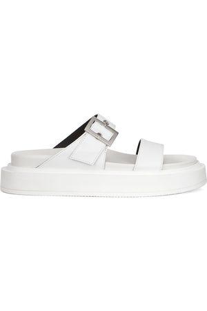 Giuseppe Zanotti Dame Flip flops - Jolanda leather sliders