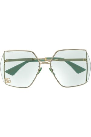 Gucci Double G oversized-frame sunglasses