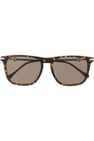 Gucci Herre Solbriller - Square-frame sunglasses