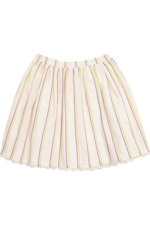 PAADE Noel striped cotton skirt