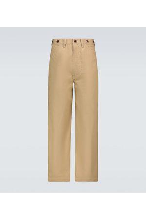 JUNYA WATANABE Wide-leg cotton chino pants