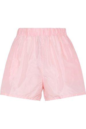 Prada Silk taffeta shorts