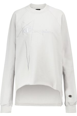 Rick Owens X Champion® cotton jersey sweatshirt