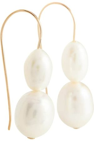 Sophie Buhai 14kt gold earrings with pearls