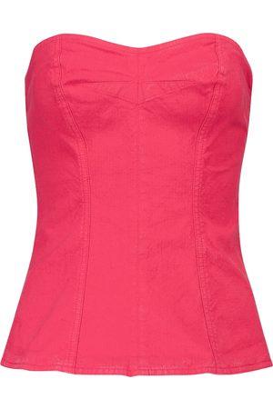 Isabel Marant Ezikio linen-blend top