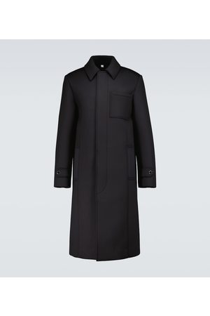 Burberry Shark fin neoprene car coat