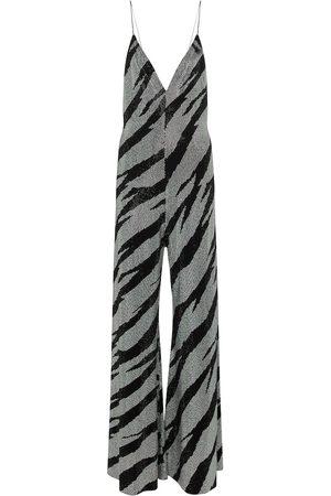 ALEXANDRE VAUTHIER Embellished wide-leg jumpsuit