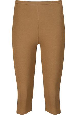 Totême High-rise knit shorts