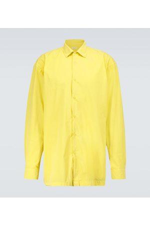 DRIES VAN NOTEN Long-sleeved cotton shirt