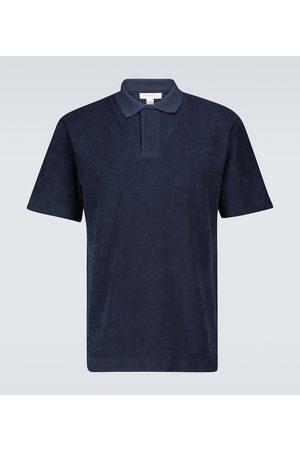 Sunspel Terry short-sleeved polo