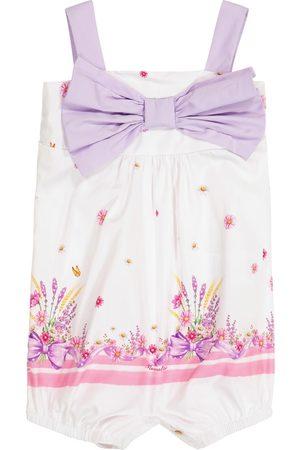 MONNALISA Baby printed cotton bodysuit