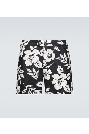 Tom Ford Floral swim shorts