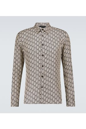 AMIRI Monogrammed long-sleeved shirt