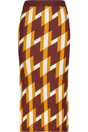 DODO BAR OR Jacquard knit maxi skirt